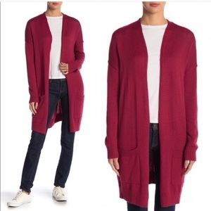 Abound Long line Knit Cardigan Size Small